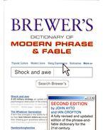 Brewer's Dictionary of Modern Phrase & Fable - AYTO, JOHN – CROFTON, IAN
