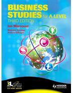Business Studies for A Level - MARCOUSÉ, IAN – SURRIDGE, MALCOLM – GILLESPIE, ANDREW
