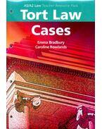 Tort Law Cases - BRADBURY, EMMA – ROWLANDS, CAROLINE