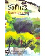Razón de amor - SALINAS, PEDRO