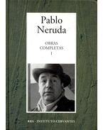 """Obras Completas #1 – De """"Crepuscularilo"""" a """"Las uvas y el Viento"""" 1923-1954 - Neruda, Pablo"""