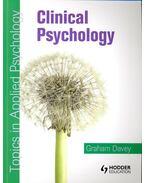 Clinical Psychology - DAVEY, GRAHAM