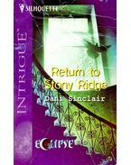 Return to Stony Ridge - SINCLAIR, DANI