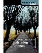 Endstation für neun - Sjöwall, Maj, Wahlöö, Per