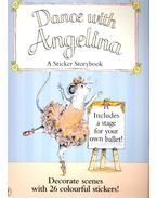 Dance with Angelina – A Sticker Storybook - HOLABIRD, KATHARINE – CRAIG, HELEN