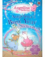 Angelina's BusyYear – Sticker Book - HOLABIRD, KATHARINE – CRAIG, HELEN