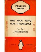 The Man Who Was Thursday - CHESTERTON, G.K.