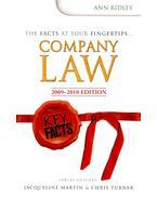 Company Law 2009-2010 Edition – Key Facts - RIDLEY, ANN