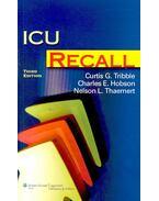 ICU Recall - TRIBBLE, CURTIS G.