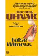 Flase Witness - Dorothy Uhnak
