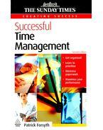 Successful Time Management - FORSYTH, PATRICK