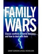 Family Wars - GORDON, GRANT – NICHOLSON, NIGEL