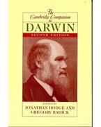 The Cambridge Companion to Darwin - HODGE, JONATHAN – RADICK, GREGORY