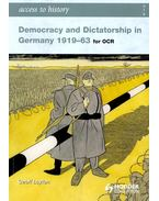 Democracy and Dictatorship in Germany 1919-63 for OCR - LAYTON, GEOFF
