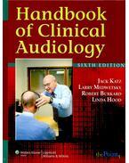 Handbook of Clinical Audiology - KATZ - MEDWETSKY - BURKARD - HOOD