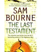 The Last Testament - Bourne, Sam