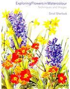 Exploring Flowers in Watercolor - SHERLOCK, SIRIOL