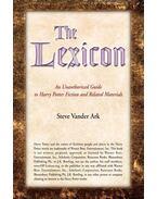 The Lexicon - VANDER ARK, STEVE