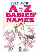 The New A - Z of Babie's Names - HARROD, JAQUELINE