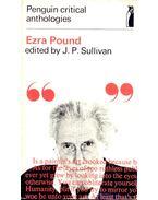 Ezra Pound - SULLIVAN, J. P.