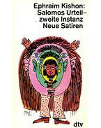Salomos Urteil - zweite Instanz - Neue Satiren - Ephraim Kishon