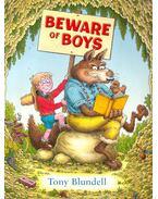 Beware of Boys - BLUNDELL, TONY