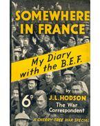 Somewhere in France - HODSON, J, L,