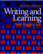 Writing and Learning - Second Edition - RUGGLES GERE, ANNE