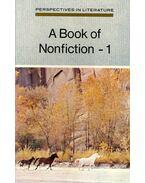 A Book of Nonfiction - O'MALLEY, JOHN - CIANCIOLO, ROSEMARY