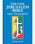The New Jerusalem Bible - New Testament - WANSBROUGH, HENRY