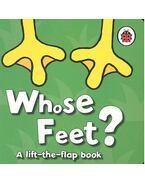 Whose Feet? - MUNRO, FIONA - HASLAM, JOHN