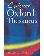 Colour Oxford Thesaurus - WAITE, MAURICE