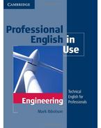 Professional English in Use:  Engineering - with Answers - IBBOTSON, MARK