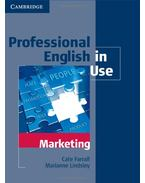 Professional English in Use - Marketing - FARRAL, CATE - LINDSLEY, MARIANNE