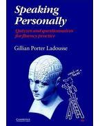 Speaking Personally - LADOUSSE, GILLIAN PORTER