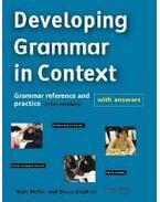 Developing Grammar in Context - NETTLE, MARK - HOPKINS, DIANA