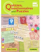 Quizzes, Questionnaires and Puzzles - CRAVEN, MILES
