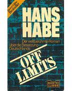 Off Limits - Habe, Hans