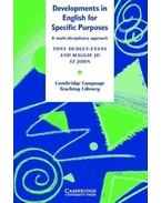 Developments in English for Specific Purposes: A Multi-Disciplinary Approach - DUDLEY-EVANS, TONY