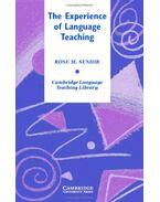 The Experience of Language Teaching - SENIOR, ROSE M.