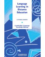 Language Learning in Distance Education - WHITE, CYNTHIA