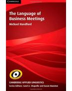 The Language of Business Meetings - HANDFORD, MICHAEL