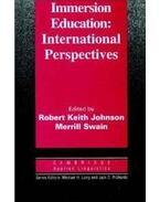 Immersion Education: International Perspectives - JOHNSON, ROBERT KEITH