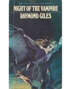 Night of the Vampire - GILES, RAYMOND