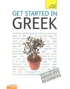 Get Started in Greek - From Beginner To Level 3 - MATSUKAS, ARISTARHOS