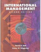 International Management 2nd ed. - HOLT, DAVID H. - WIGGINTON, KAREN W.