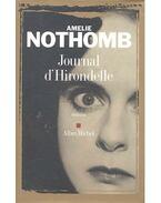 Journal d'Hirondelle - Nothomb, Amélie