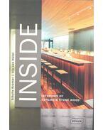 INSIDE - Interiors of Concrete Stone Wood - KRAMER, SIBYLLE - HÜLST, IRIS van
