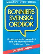 Bonniers svenska ordbok - MALMSTRÖM, STEN - GYÖRKI, IRÉNE - SJÖGREN, PETER A.