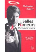 Salles fumeurs - BUCKLEY, CHRISTOPHER
